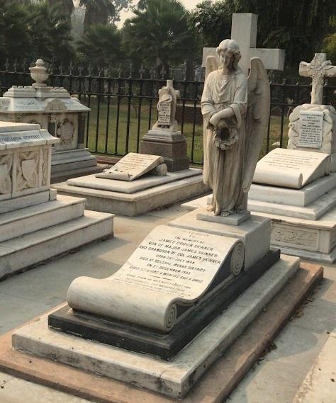 The Skinner Family Cemetery at St James' Church