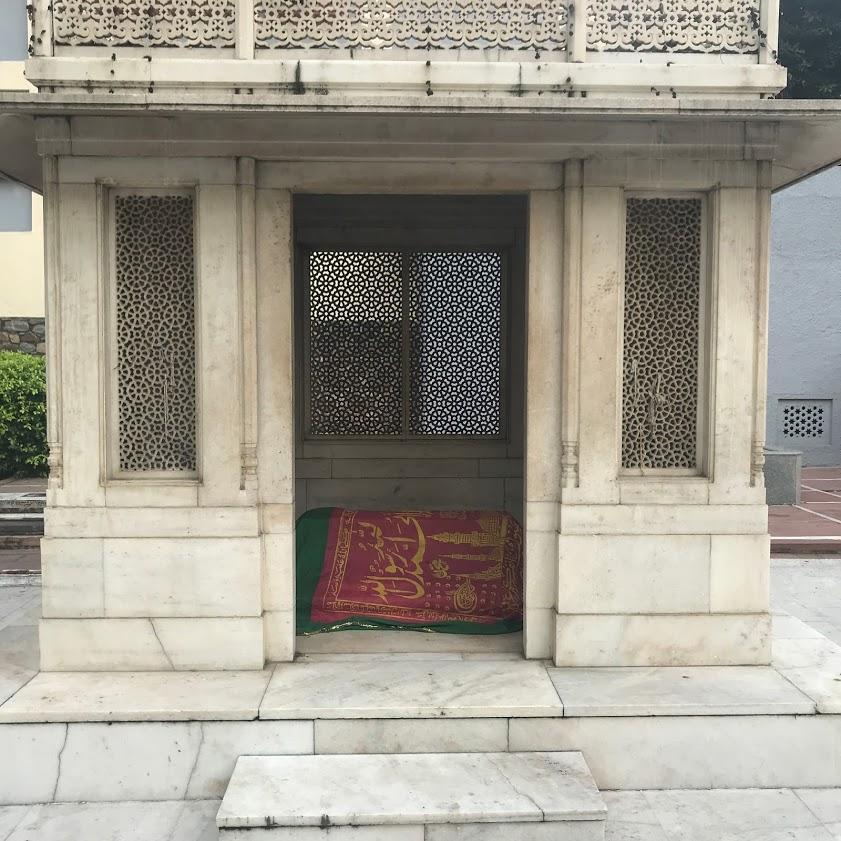 The Tomb of Mirza Ghalib