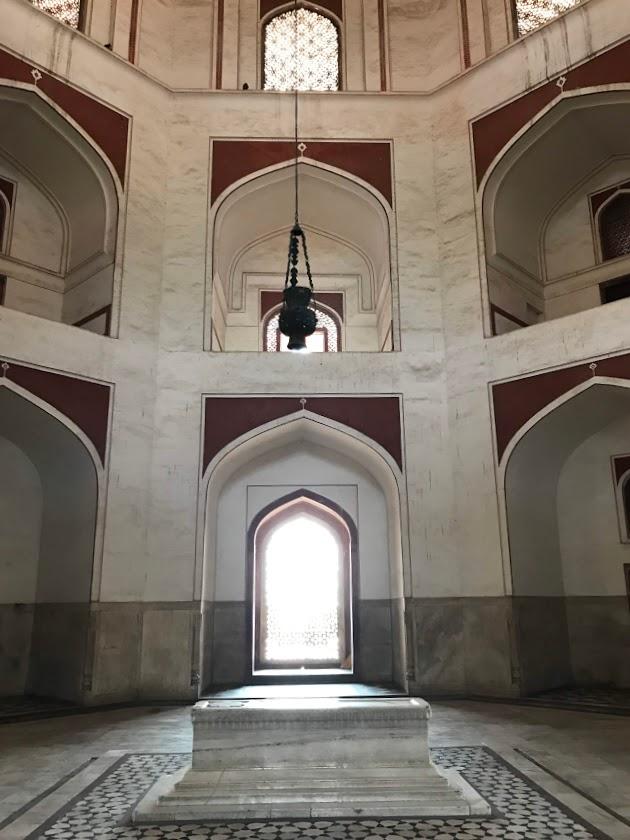 Humayun's Grave inside Humayun's Tomb