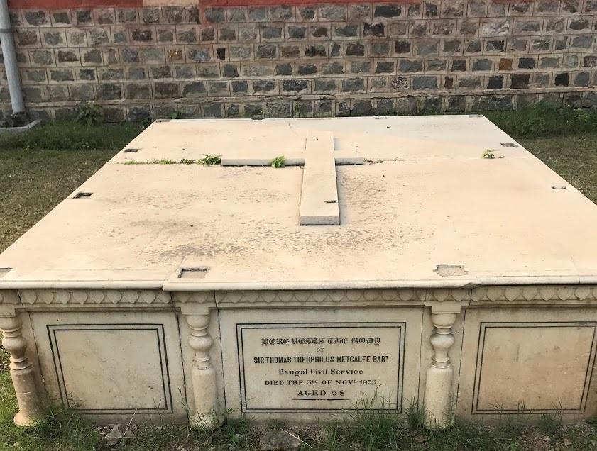 The Grave of Thomas Metcalfe