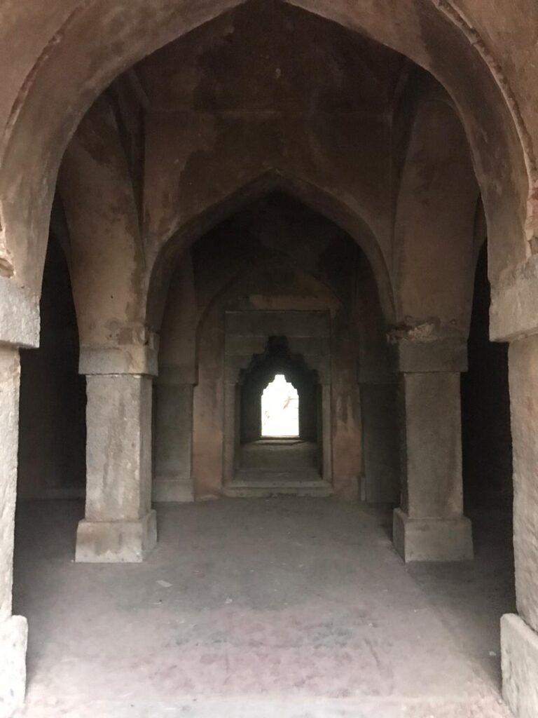 Inside Malcha Mahal