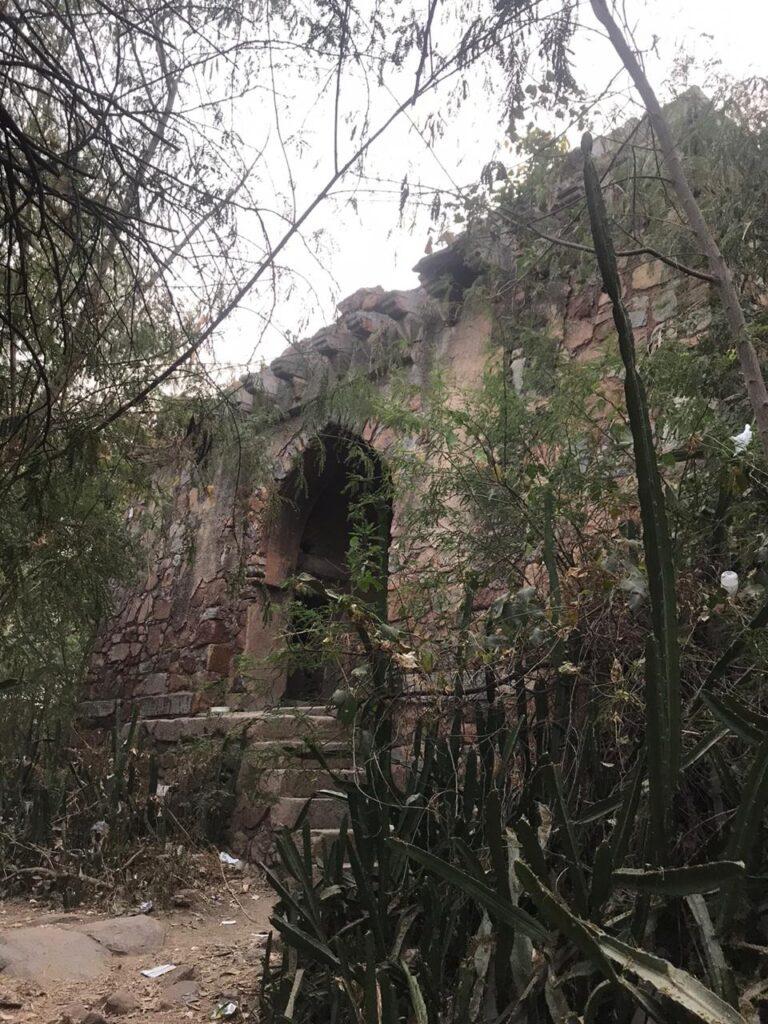 Malcha Mahal Entrance View