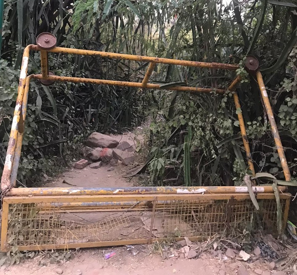 Malcha Mahal Entry