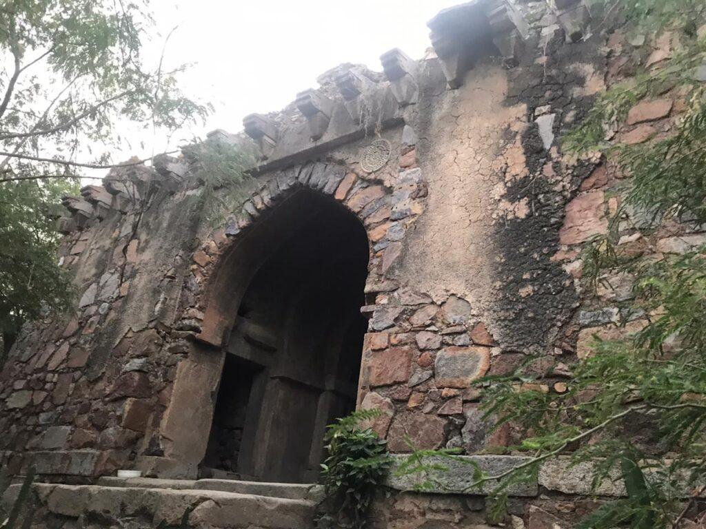 Malcha Mahal Front