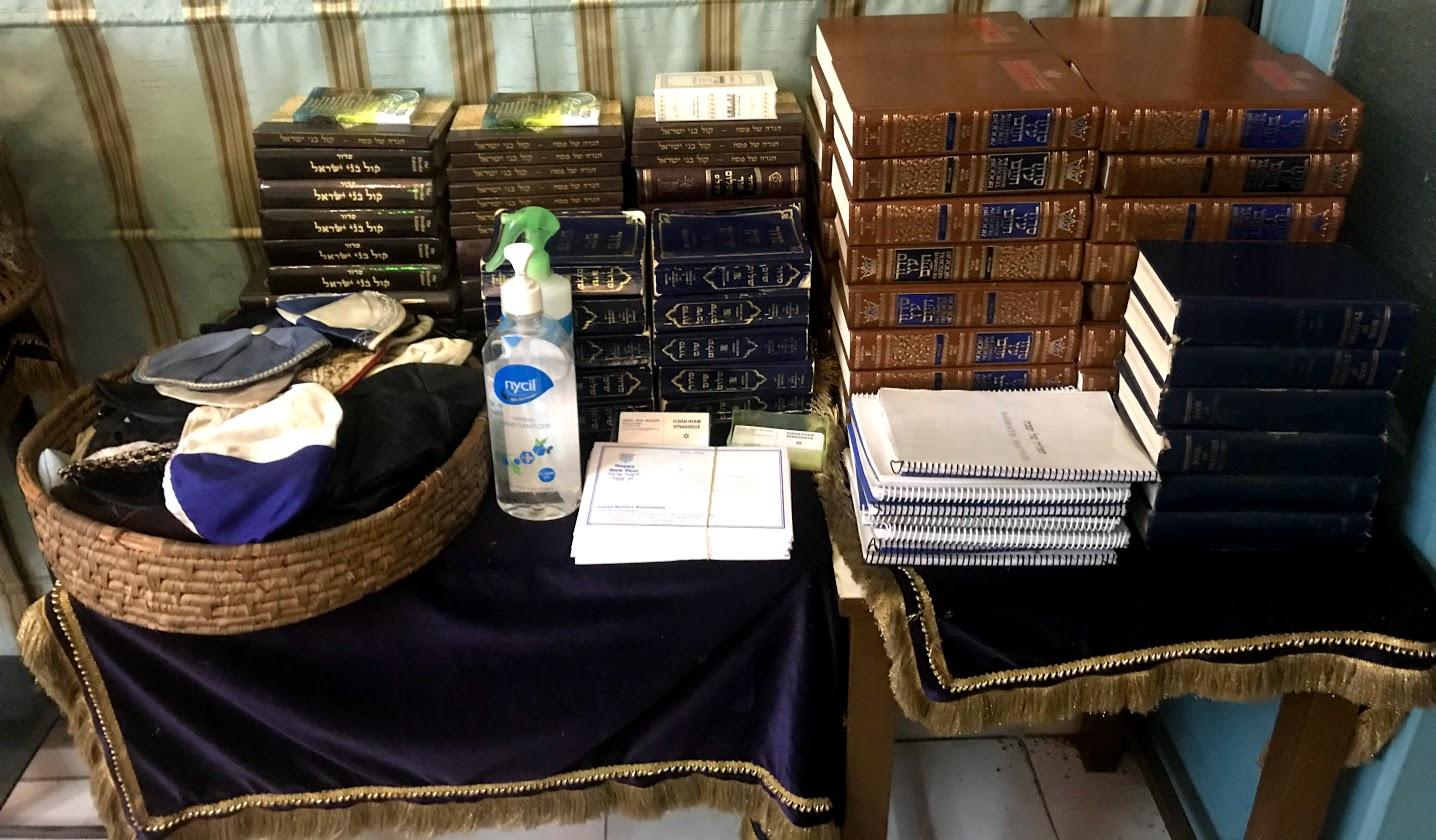Holy Books Judah Hyam Synagogue Delhi